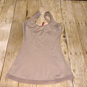 Spanx form fitting tank top